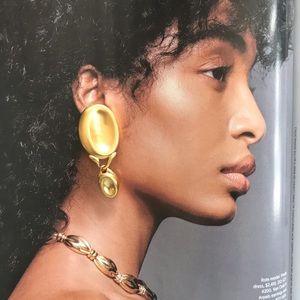 VTG GUCCI Clip-on Earrings